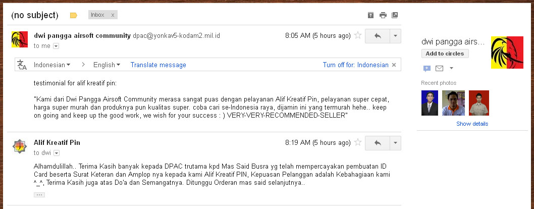 Testimoni - Said DPAC (Jul 2012)